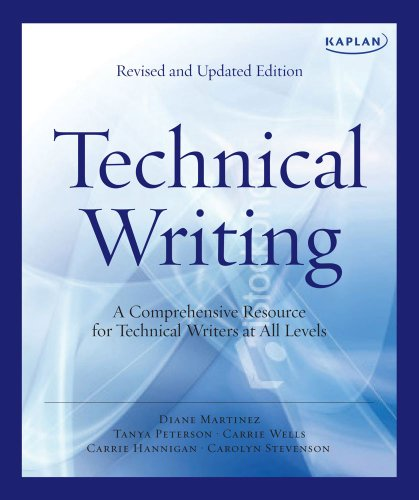 Kaplan Technical Writing A Comprehensive Resource for Technical Writers at All Levels 2nd edition cover