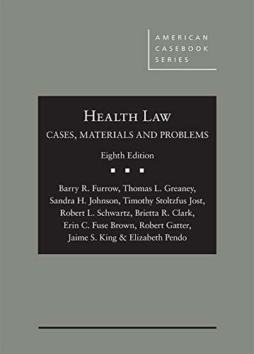 HEALTH LAW:CASES,MTRLS.+PROBLEMS        N/A 9781683288091 Front Cover