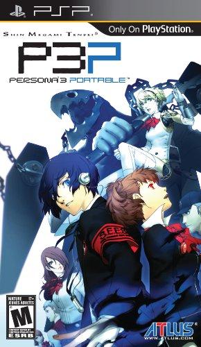 Shin Megami Tensei: Persona 3 Portable - Sony PSP Sony PSP artwork
