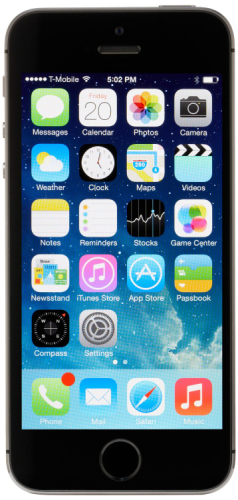 Apple iPhone 5s - 64GB - Space Gray (AT&T) product image