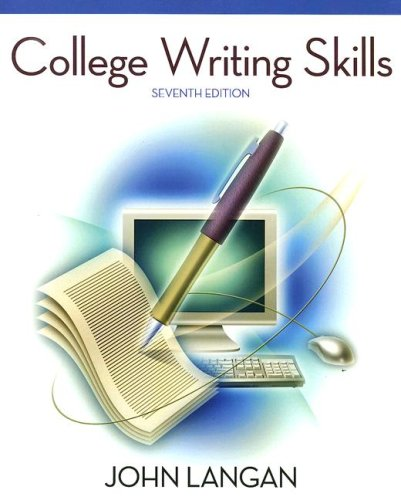College Writing Skills  7th 2008 edition cover