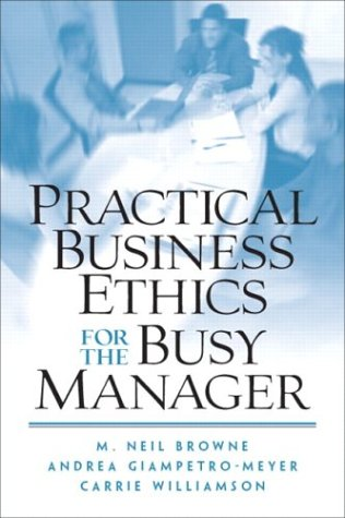 Practical Business Ethics for the Busy Manager   2004 edition cover