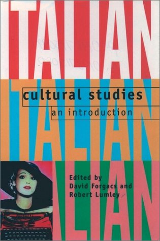 Italian Cultural Studies An Introduction  1996 edition cover