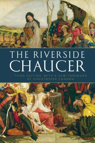 Riverside Chaucer  2008 edition cover
