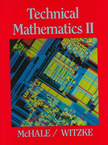 Technical Mathematics II   1988 edition cover