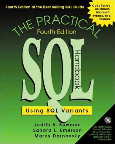 Practical SQL Handbook Using SQL Variants 4th 2001 (Revised) edition cover