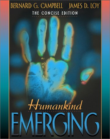 Humankind Emerging   2002 9780205325092 Front Cover