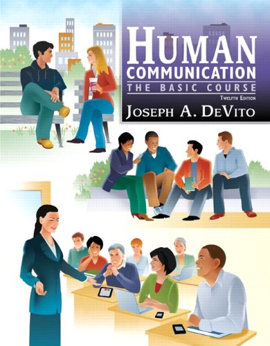 Human Communication The Basic Course 12th 2012 (Revised) edition cover