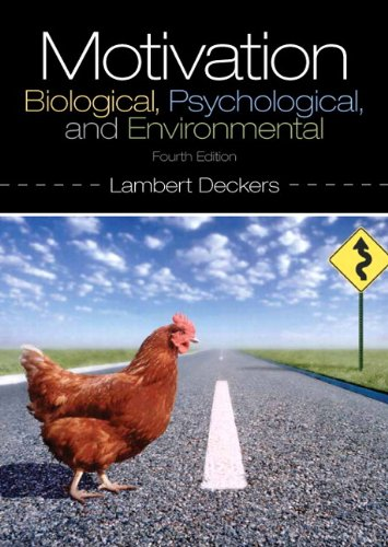 Motivation Biological, Psychological, and Environmental Plus MySearchLab with EText -- Access Card Package 4th 2014 edition cover
