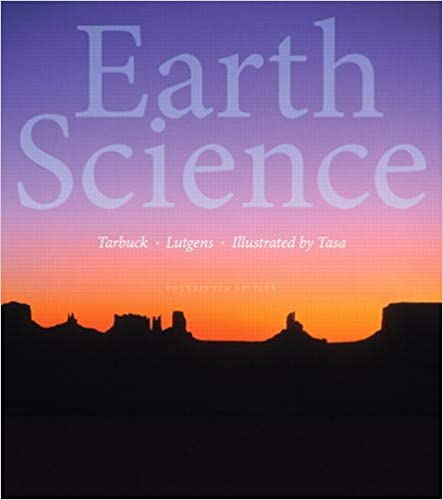 Earth Science  14th 2015 edition cover