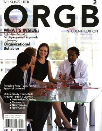 ORGB 2011  2nd 2011 9780324787092 Front Cover