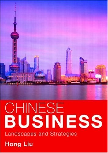 Chinese Business Landscapes and Strategies  2009 edition cover