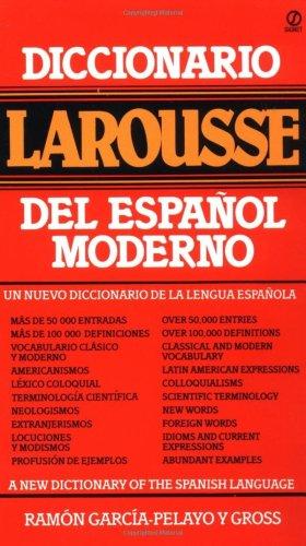 Diccionario Larousse del Espanol Moderno   1983 edition cover