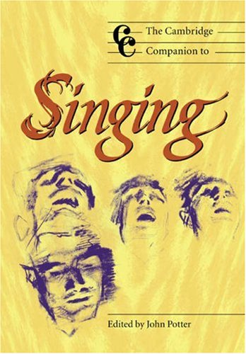 Cambridge Companion to Singing   2000 9780521627092 Front Cover