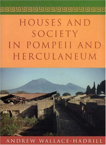 Houses and Society in Pompeii and Herculaneum   1996 edition cover