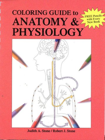 Coloring Guide to Anatomy and Physiology   1995 edition cover