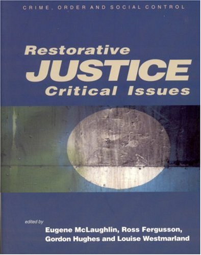 Restorative Justice Critical Issues  2003 edition cover