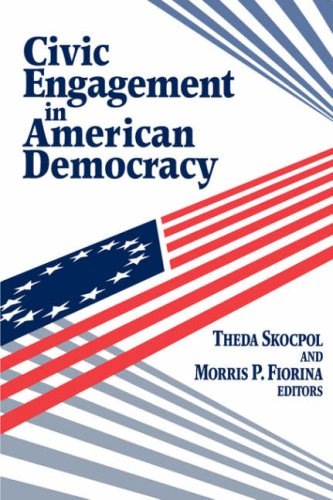 Civic Engagement in American Democracy   1999 edition cover