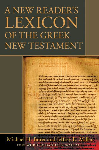 New Reader's Lexicon of the Greek New Testament   2008 edition cover