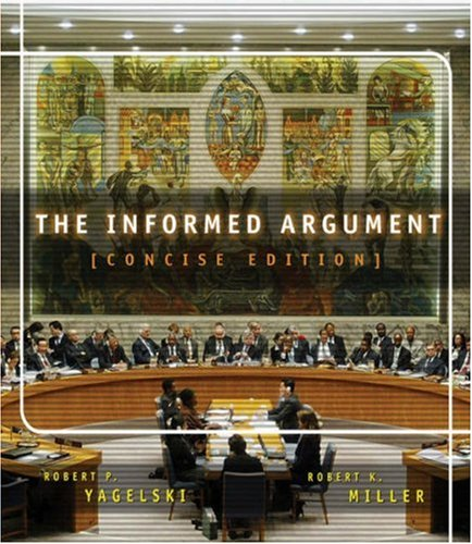 Informed Argument  6th 2004 (Revised) edition cover