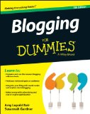 Blogging for Dummies�  5th 2014 edition cover
