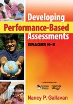 Developing Performance-Based Assessments, Grades K-5   2009 9781412966092 Front Cover