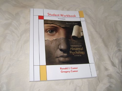 Fundamentals of Abnormal Psychology  6th 2010 (Revised) edition cover