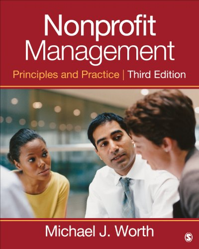 Nonprofit Management Principles and Practice 3rd 2014 edition cover