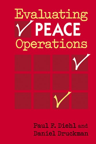 Evaluating Peace Operations   2010 edition cover