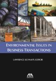 Environmental Issues in Business Transactions   2011 edition cover