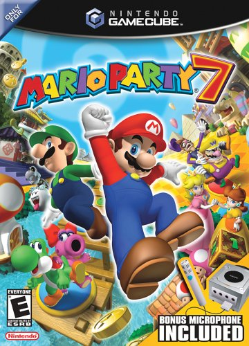 Mario Party 7 GameCube artwork
