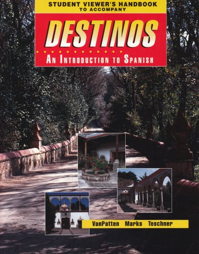 Destinos An Introduction to Spanish  1992 edition cover
