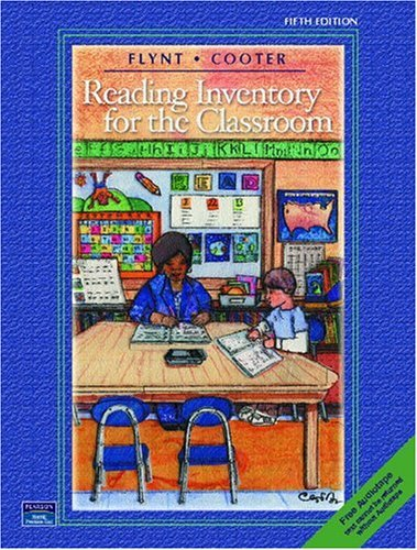 Reading Inventory for the Classroom and Tutorial Audiotape Package  5th 2004 (Revised) edition cover