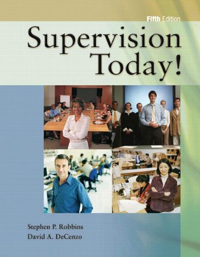 Supervision Today!  5th 2007 (Revised) edition cover