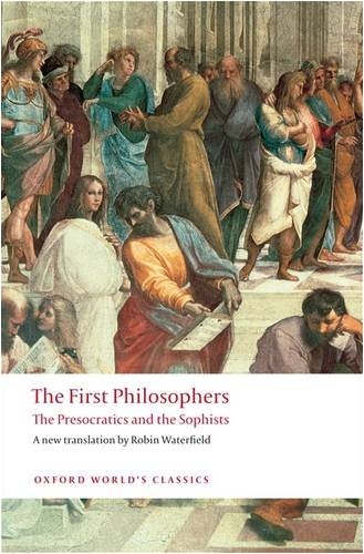 First Philosophers The Presocratics and Sophists  2009 edition cover