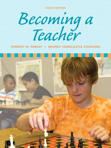 Becoming a Teacher  8th 2010 edition cover