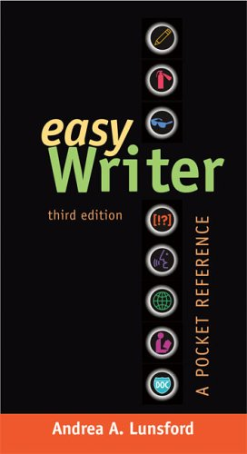 Easy Writer A Pocket Reference 3rd 2006 9780312433093 Front Cover