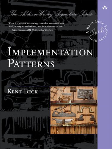 Implementation Patterns   2008 edition cover