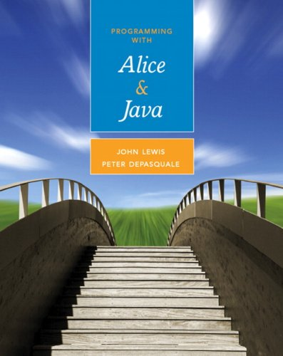Programming with Alice and Java   2009 9780321512093 Front Cover