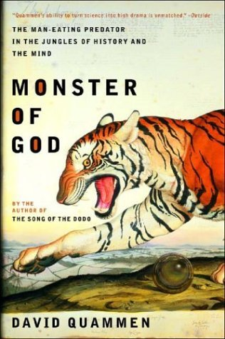 Monster of God The Man-Eating Predator in the Jungles of History and the Mind  2003 edition cover