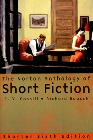Norton Anthology of Short Fiction  6th 2000 edition cover