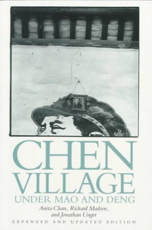 Chen Village under Mao and Deng  2nd 1992 (Revised) edition cover