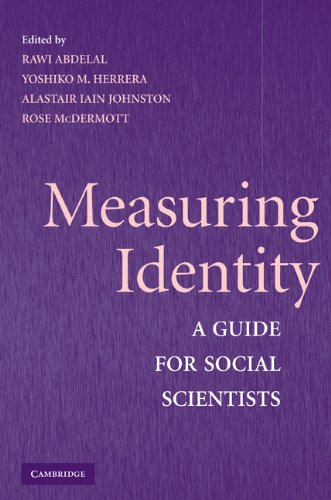 Measuring Identity A Guide for Social Scientists  2008 edition cover