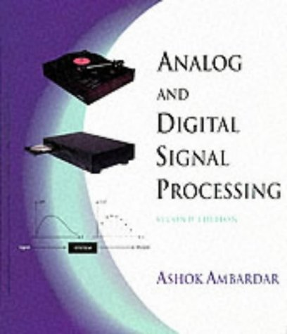 Analog and Digital Signal Processing  2nd 1999 (Revised) 9780534954093 Front Cover