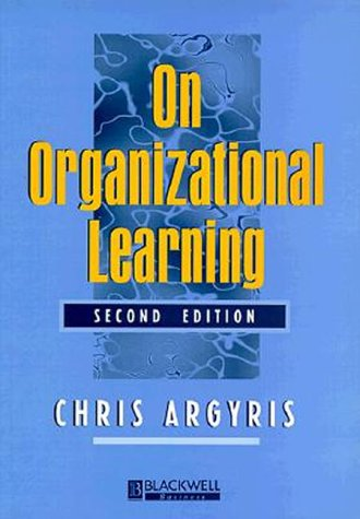 On Organizational Learning  2nd 1999 (Revised) edition cover