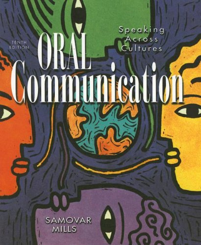 Oral Communication Speaking Across Cultures 10th 1998 9780697299093 Front Cover