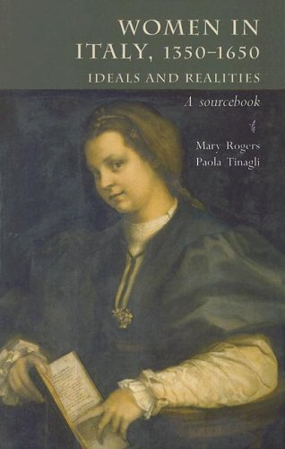 Women in Italy, 1350-1650 Ideals and Realities - A Sourcebook  2006 edition cover
