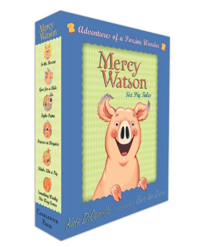 Mercy Watson Boxed Set: Adventures of a Porcine Wonder   2011 9780763657093 Front Cover