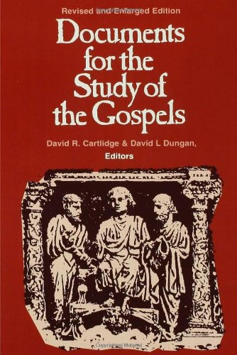 Documents for the Study of the Gospels   1994 edition cover