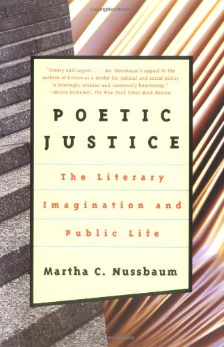 Poetic Justice The Literary Imagination and Public Life  1997 edition cover